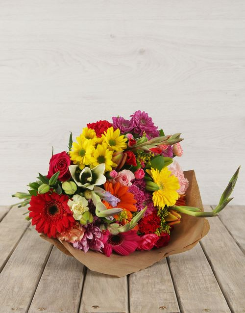 A Gorgeous Vibrant Flower Arrangment