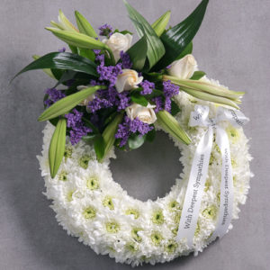 Funeral Wreath Sympathy Flowers