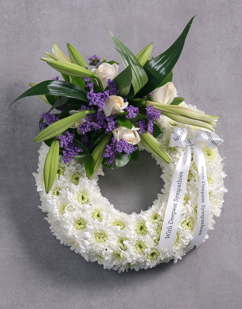 Funeral Wreath Sympathy Flowers
