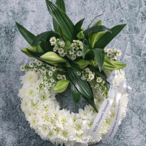 Mini Sympathy Flower Ring