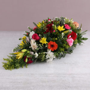 Seasonal Funeral Coffin Display