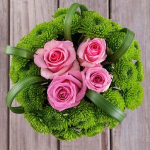 Birthday Wishes Flower Mug