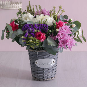 Floral Fantasy Basket of Delight