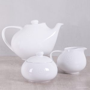 Carrol Boyes Swirl Tea Set