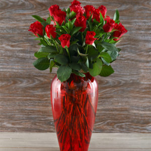 Lovely Red Rose Delight For Mother's Day