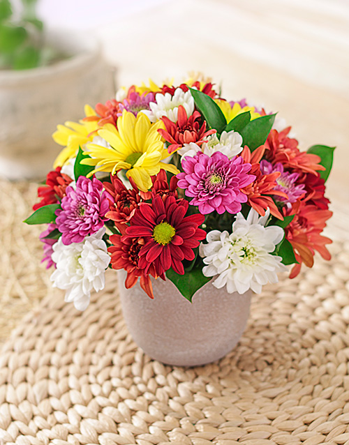 Rock Them Daisies Vase For Mother's Day