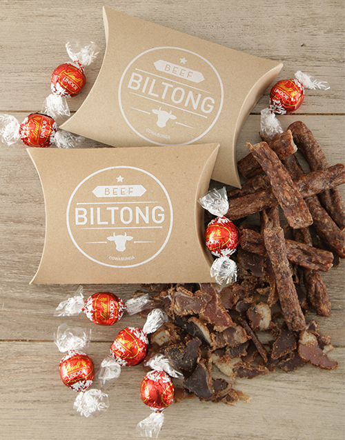 Biltong and Chocs Treat Box For Mother's Day