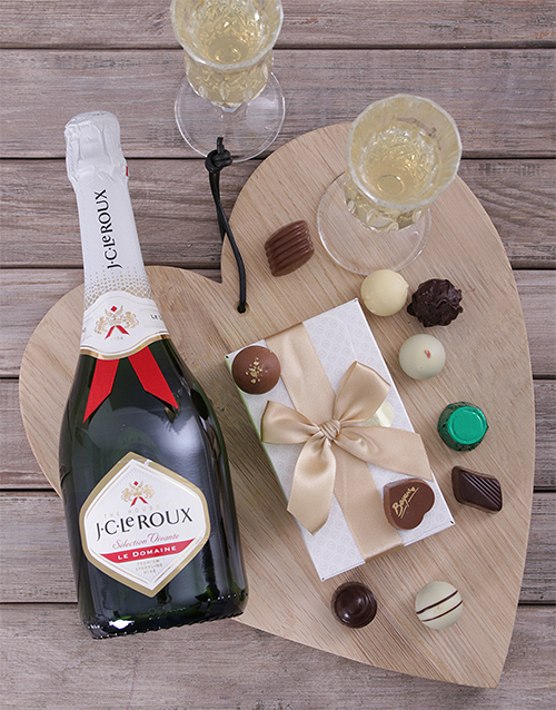 JC Le Roux & a Box of Chocolate Truffles For Mother's Day