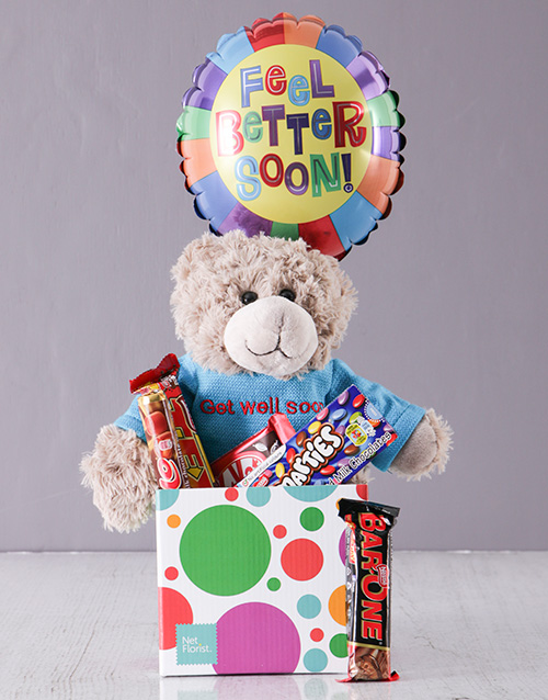 Chocolates and Cuddles Get Well Gift For Mother's Day