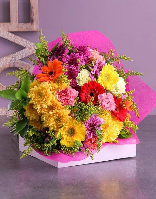 Marvellous Mixed Flower Bouquet