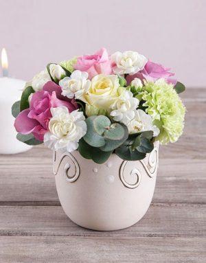 Beauty in a Ceramic Pot