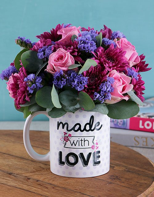 Made With Love in a Mug