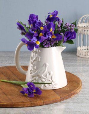 Watered Irises