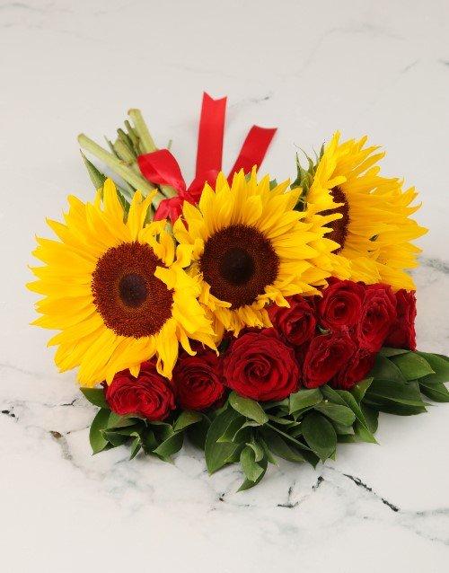 Sunny Styled Rose Mix