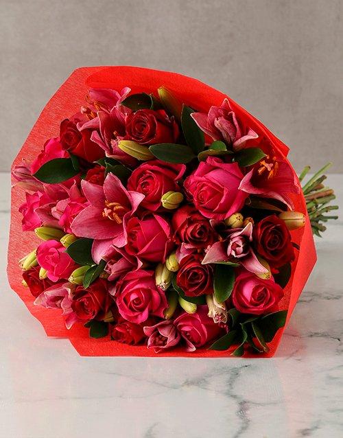 Ravishing Colours Of Love Bloom Bouquet