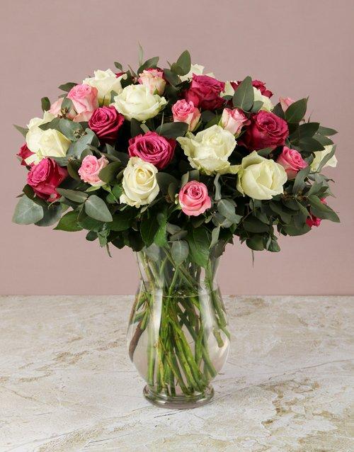 Garden Of Roses Arrangement