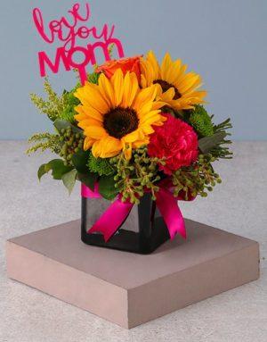 Mixed Mothers Day Striking Arrangement