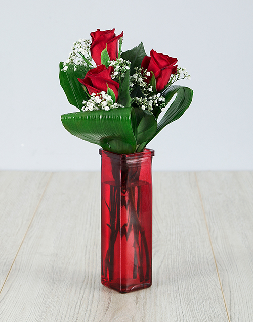 roses The Beauty Of Love Rose Vase