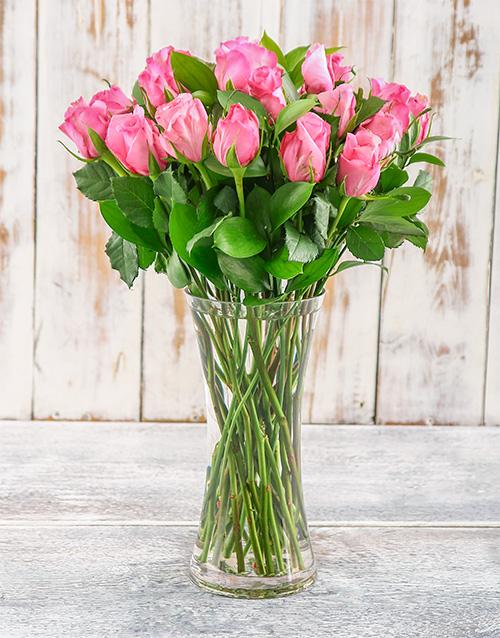 roses Blush in Pink Arrangement