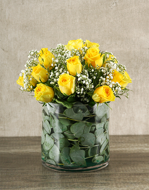 roses Yellow Rose Delight