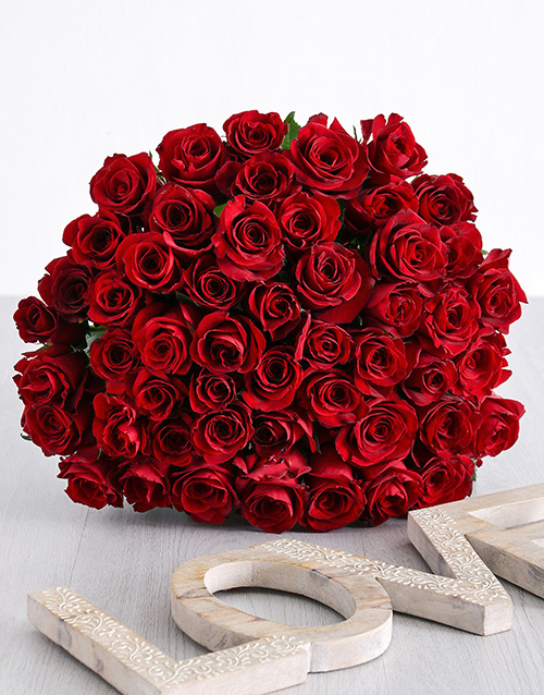 roses Spectacular Red Rose Bouquet