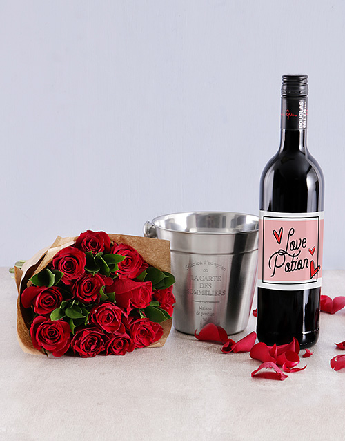 roses Wine About It Combo