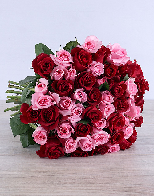 roses Opulent Mixed Roses Bouquet