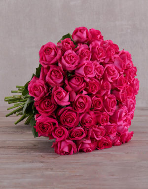 roses 50 Shades of Cerise Rose Bouquet