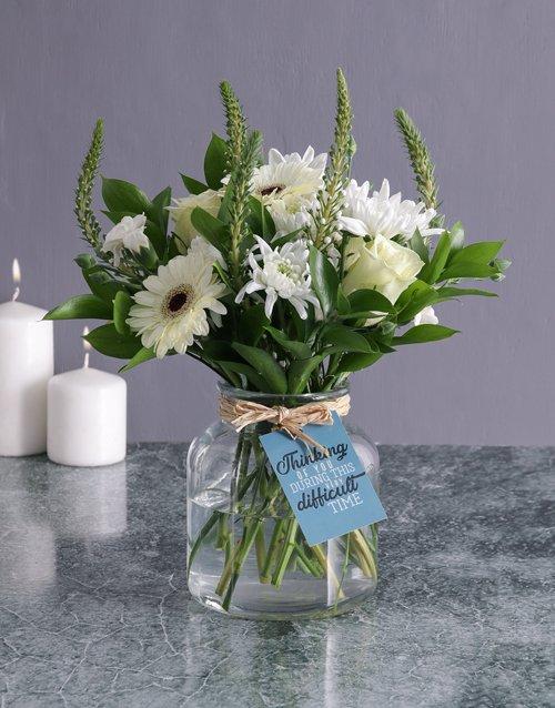 sympathy Thinking Of You Flower Arrangement