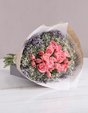roses Enchanted Sapphire Pink Roses