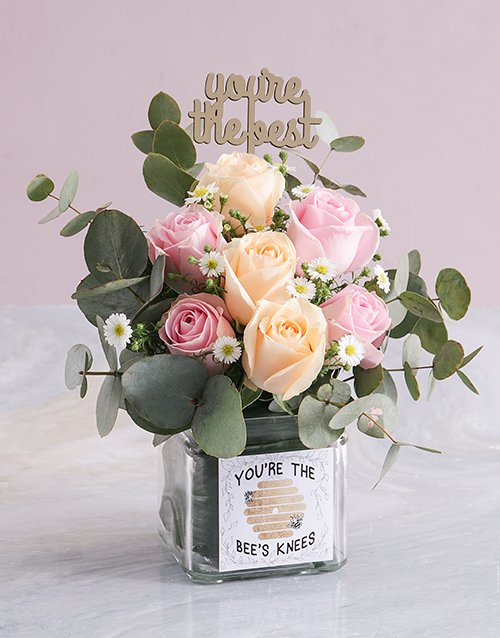 roses Sweet Rose Sensations in a Vase