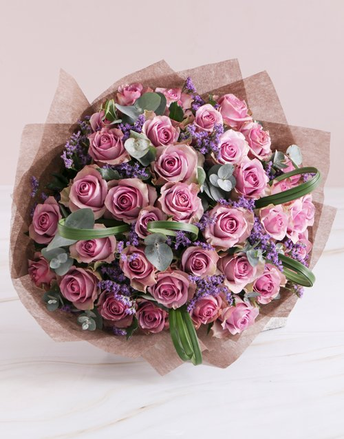 roses Lovely Lilac Rose Bouquet