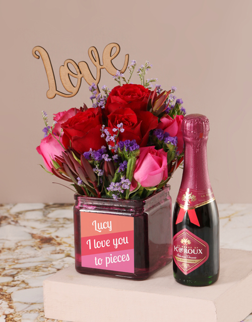 roses Personalised Love You to Pieces Blooms